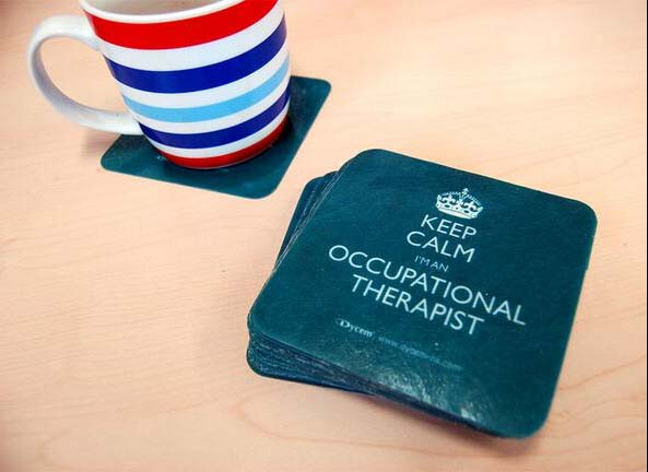 Keep Calm OT coaster