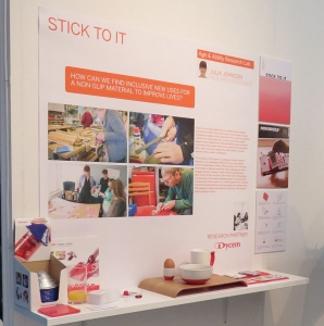 'stick to it' exhibit