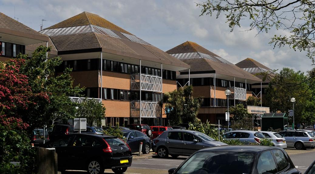 Weston General Hospital. Photo Credit: Weston Area Health NHS Trust