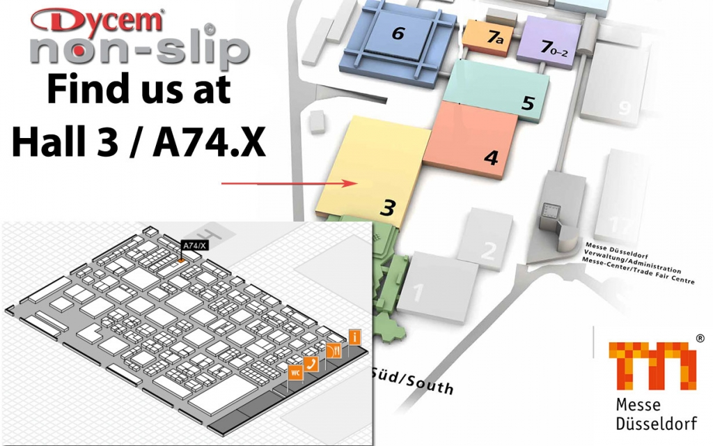 Find us at Hall 3 / A74.X