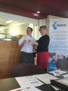Winner Nicola Burroughs